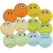 Emotion Faces Seating Cushions by HABA, 055398