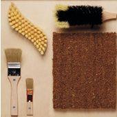 Bristle Brushes Sensory Wall Activity Panel by HABA, 104608