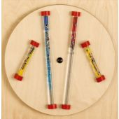 Glitter Rods Sensory Wall Activity Panel by HABA, 120371