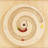 Turning Spiral w/ Balls Sensory Wall Activity Panel by HABA, 120396