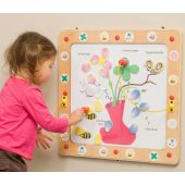 Flowers, Bees and Butterflies Magnetic Activity, 20-FLM-001