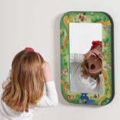 Animal Families Children's Safety Wall Mirror