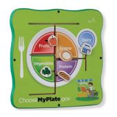 MyPlate Match Up Children's Wall Activity by Playscapes, 20-MYP-100