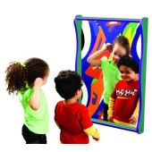 Superwide Giggle Mirror by Playscapes, 20-SMR*