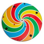 Lollipop Pinwheel Wall Activity by Playscapes