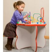Flower Top Wire & Beads Activity Table by Playscapes