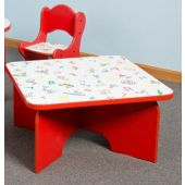 Just-My-Size Square Friends Design Toddler Table by Playscapes