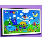 Harmony Park Framed Art by Playscapes