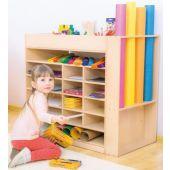 Double Side Multifunctional Cabinet by NOVUM