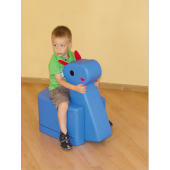 Horse Pouf Seat by NOVUM