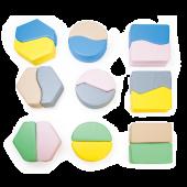 Figlo Matching Blocks Floor Game by NOVUM, 4641258