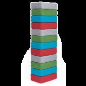 Square Tornado Fabric Cushion Set by NOVUM, 4641293