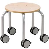 Mobile Stool with Locking Casters by HABA, 475890
