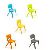 "Postura Chair 15"" Seat by NOVUM, 6306942 - 6306946"
