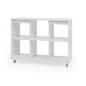 Universal Room Divider Shelves by NOVUM, 6512482 & 6512483