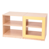 4 Shelf - Yellow Partition by NOVUM, 6521112