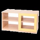 House Partitions / Yellow 4 Shelf Unit by NOVUM, 6521112