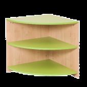 Corner Shelf - Green Partition by NOVUM, 6521114