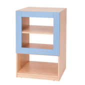3 Shelf - Blue Partition by NOVUM, 6521115