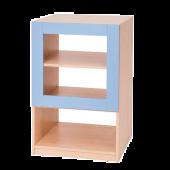 House Partitions / Blue 3 Shelf Unit by NOVUM, 6521115