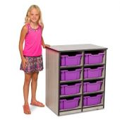 Double Unit Mobile Classroom Organizer