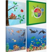 Acoustic Designer Art Noise Absorption Panels by Playscapes