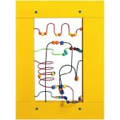 Bead Maze Wall Activity Panel by Playscapes