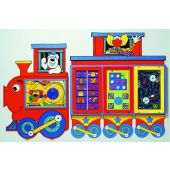 Locomotive Train and Caboose Activity Center by Playscapes