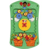 Fruits and Veggies Activity Panel by Playscapes