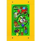 Horsey Panel Wall Game (Includes Lady Bug Lane Round-A-Bout Game)