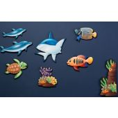Sea Life Noise Absorption Panel Set by Playscapes
