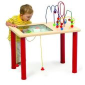 Bead Blast & Vehicle Venture Sand and Activity Table by Playscapes