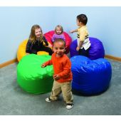 Jelly Bean Children's Bean Bag Chair by Playscapes