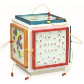 Small Activity Cube by Playscapes (Activity Panels Sold Separately)