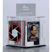 3branch magstak™ Magazine Counter Display w/2-Sided Sign