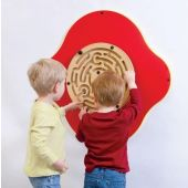 Lucky Labyrinth Wall Activity by Playscapes