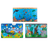 Seascape, Harmony Park, and Animal Families Story Murals by Playscapes, 30-MUR**