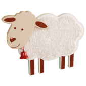 Sheep Wooden Playwall Decoration by HABA, 121004
