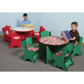 Just-My-Size Round Friends Design Toddler Table by Playscapes