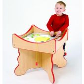 Veggie Visage Match Activity Table by Playscapes, 15-VEG*