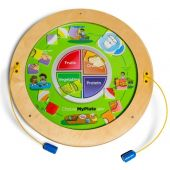 Round Magnetic Wall Activities by Playscapes