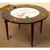 Flowers and Bees Activity Table by Playscapes