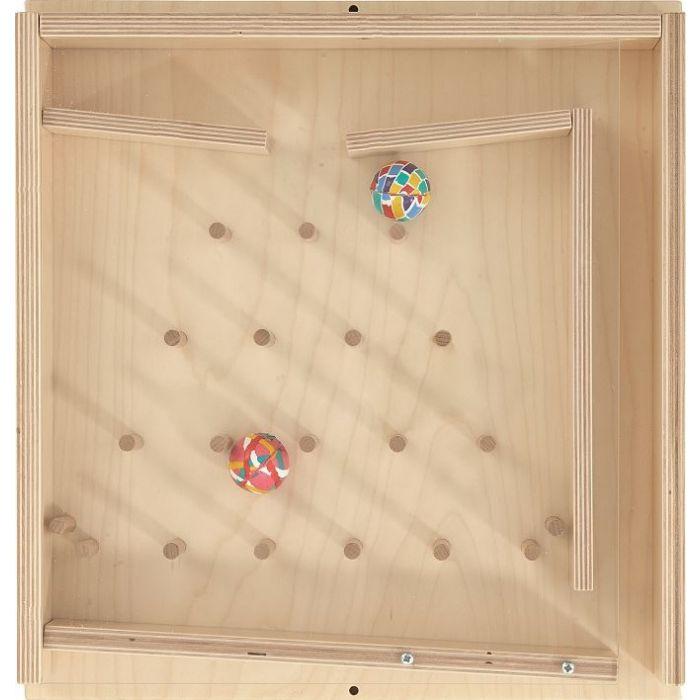 Rubber Ball Plinko Sensory Wall Activity Panel by HABA, 023138