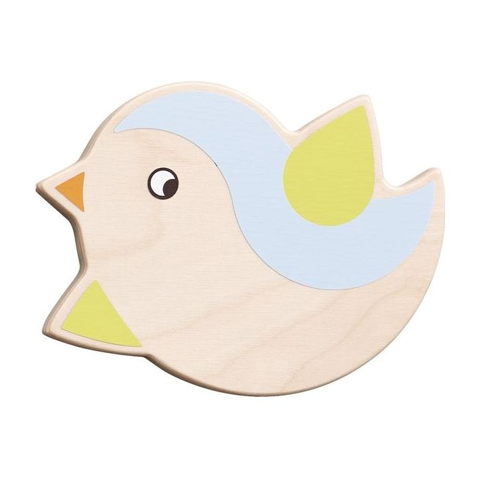 Chubby Little Robin Wall Decor by HABA, Blue, 053295