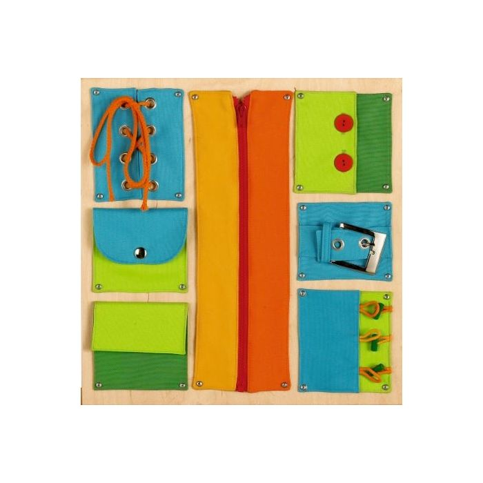 Closures Sensory Wall Activity Panel by HABA, 120370
