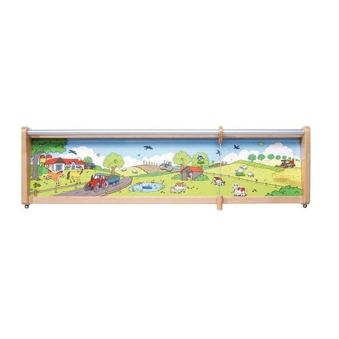 Farm Yard Magnetic Wall Activity by HABA, 120949