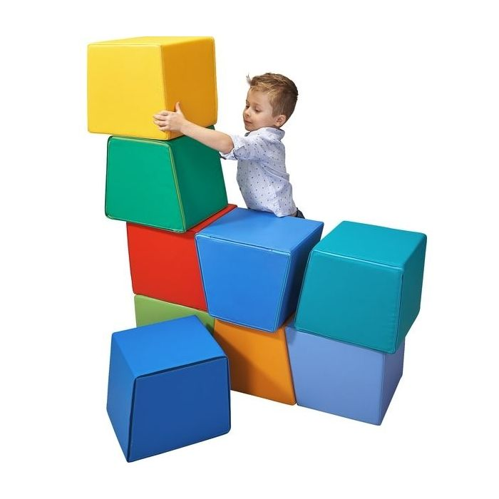 Stackable Cuboid Soft Blocks Set by HABA, 153755