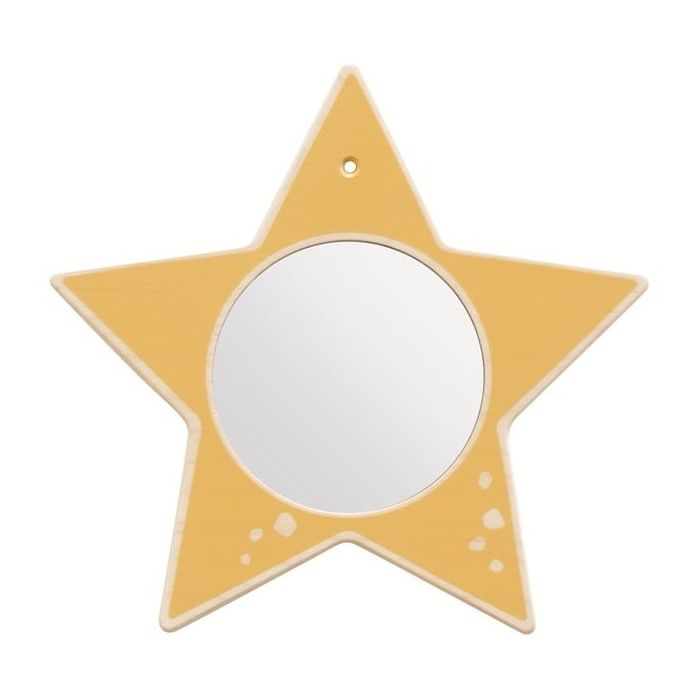 Star Mirror Wooden Play Wall Decoration by HABA, 155632