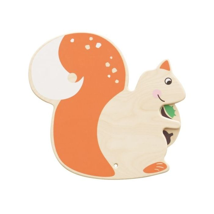 Squirrel Interactive Wooden Play Wall Decoration by HABA, 155638