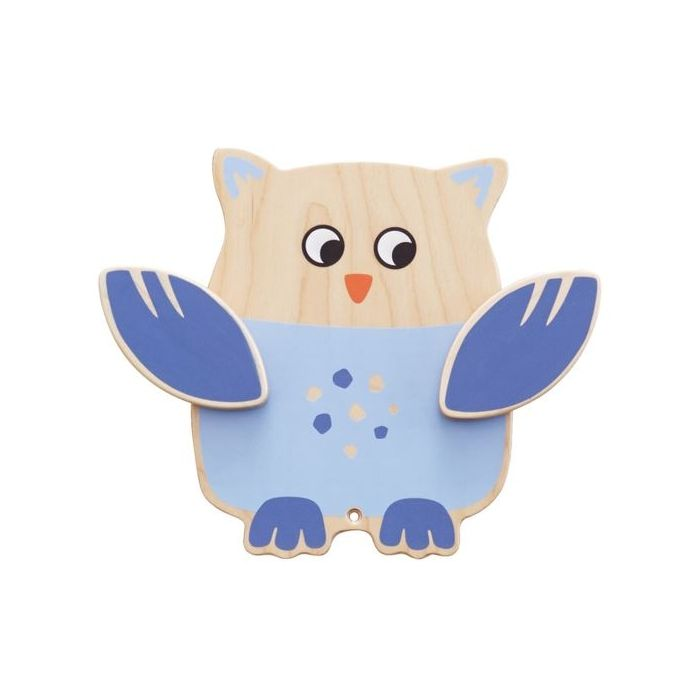 Owl Interactive Wooden Play Wall Decoration by HABA, 155902